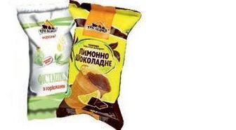 Морозиво Фісташка 65г, Лимон-шоколад 80г, Три Ведмеді