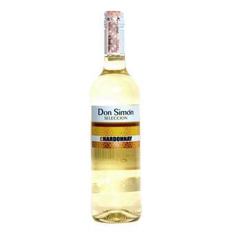 Вино Don Simon Chardonnay сухое 0,75л 12%