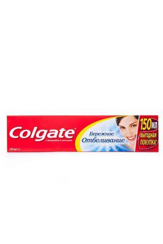 Зубная паста Colgate Бережное Отбеливание 150мл