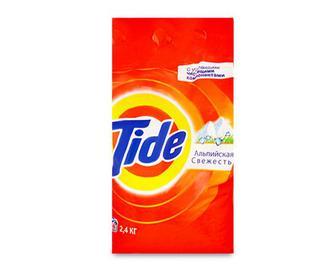 Порошок пральний Tide автомат «Альпійська свіжість» 2,4кг