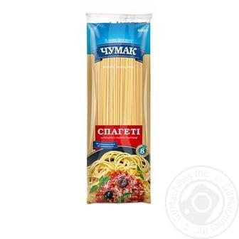 Макарони Спагетті Чумак 400г