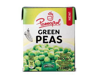 Горошок зелений Pamapol, 380г
