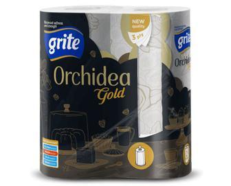 Рушники паперові Grite Orchidea Gold, 2рулони/уп