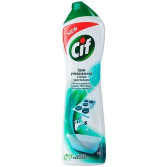 Засіб Cif Cream Aroma чистячий зелена свіжість 500мл