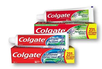 Паста зубна Цілющі трави / Triple Action Потрійна дія Colgate 150 мл