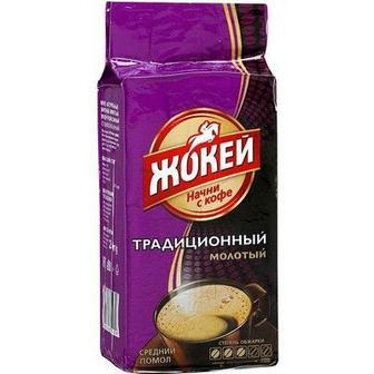 КАВА мелена Традиційна, 225 г ЖОКЕЙ