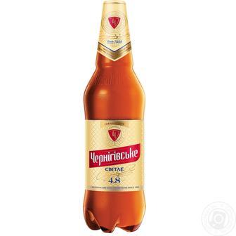 Пиво світле Чернігівське 1,15л