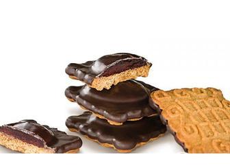 Печиво Маргаритка зі смаком малини, Деліція, кг
