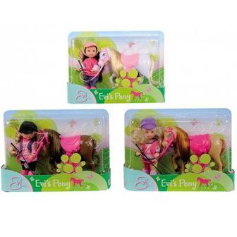 Игровой набор Ева и пони Steffi & Evi Love (5737464)