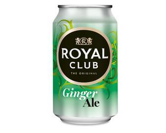 Напій «Імбирний ель» безалкогольний газований, Royal Club, 0,33 л