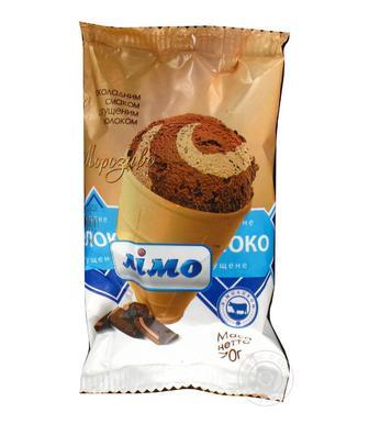 Морозиво  Славутич  шоколад зі згущеним молоком  Лімо 70 г