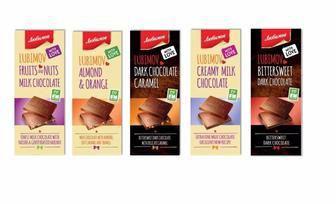 """Шоколад молочний та чорний,""""Любимов"""", 85г"""