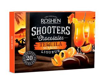 Цукерки Roshen Shooters Tequila Sunrise, 150г