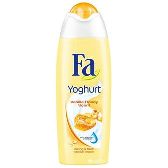 ГЕЛЬ для душу Yoghurt Vanilla Honey Scent, 250 мл FA