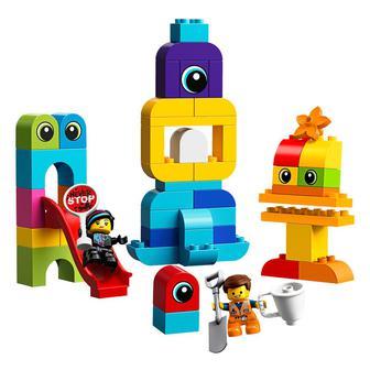 Конструктор LEGO DUPLO Гости Эммета и Люси с планеты DUPLO (10895)