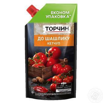 Кетчуп Торчин Чилі/Лагідний/До шашлику 400г