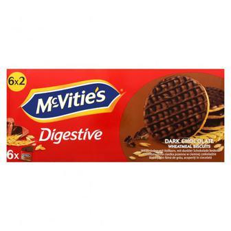 Печиво McVitie`s пшеничне в темному шоколаді 6 на33,3г