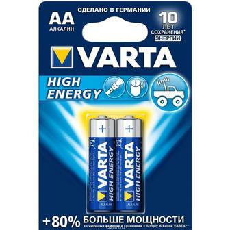 Батарейка АА Varta High Energy, 2шт в блистере