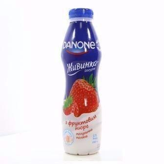 Йогурт питний Живинка 1.5%   Danone  270 г