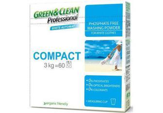 Green&Clean Professional порошок пральний Compact для білої білизни, 3 кг