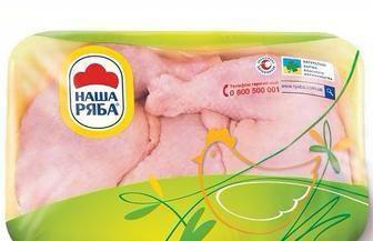 Четвертина куряча охолоджена Наша Ряба 1 кг