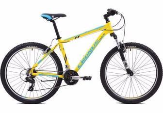 """Велосипед Cronus COUPE 2.0 (2015) 19"""" жёлтый/синий/чёрн мат"""