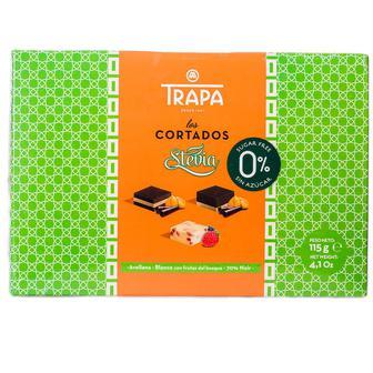 Конфеты шоколадные Trapa Cortados Stevia