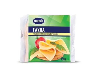 Сир плавлений «Гауда» «Премія»®,  150 г