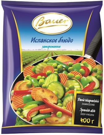 """Овочі По-іспанськи  Bauer  або Овочі з грибами  Преміум """"Рудь """" 400 г"""