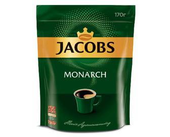 Кава розчинна Jacobs Monarch, 170г