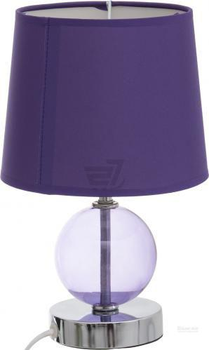 Настільна лампа декоративна Globo Volcano 1x40 Вт E14 фіолетовий 21666