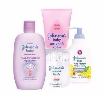 Засоби дитячі для догляду Johnsons&Johnsons