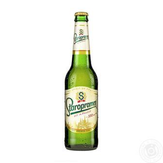 Пиво Старопрамен 0,5л стекло