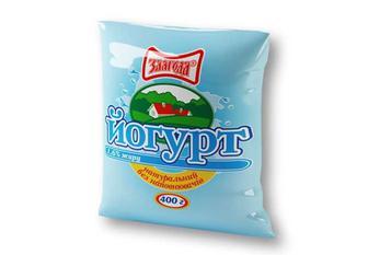 Йогурт натуральний без наповнювачів, 1,6% Злагода 400 г