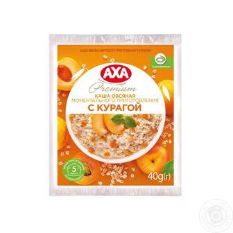 Каша овсяная Axa быстрого приготовления с курагой 40г