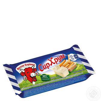 Сыр Веселая Коровка сливочный плавленный 55% 180г