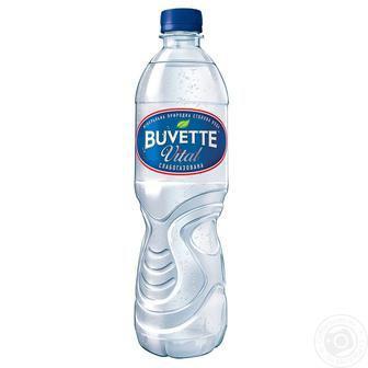 Вода мін.слабогазована Buvette 0.5 л