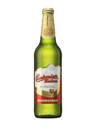 Пиво Преміум світле Будвайзер 0,5 л