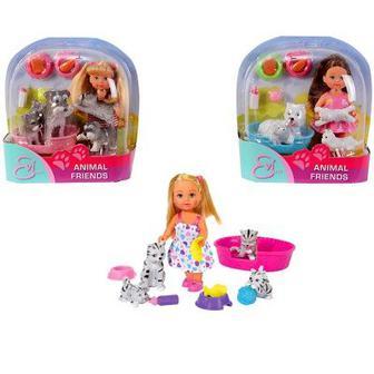 Кукла Ева с животными Simba (5734191)