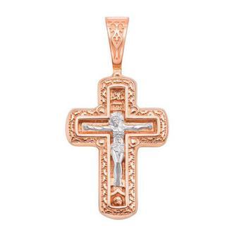 Золотой крестик. Распятие Христа. Артикул 31443/1