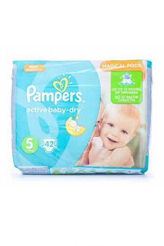 Подгузники PAMPERS Active Baby р5 11-18 кг 42шт Velio