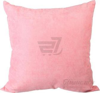 Подушка декоративна Велмарт 1 45x45 см рожевий