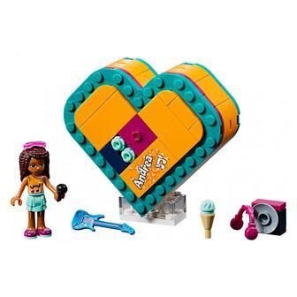 Конструктор LEGO Friends Шкатулка-сердечко Андреа (41354)