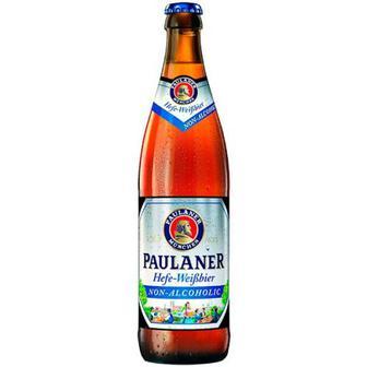 Пиво Paulaner Hefe-Weibbier скло 0,5л