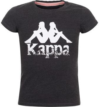Футболка для дівчаток Kappa сіра