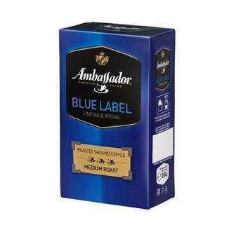 Кава зернова Blue Label Ambassador 250 г