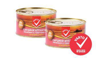 Сардини у томатному соусі Варто 240 г