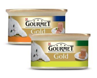 Корм для котів Gourmet Gold паштет кролик, мус індичка, 85 г