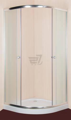 Душова кабіна SunWay SW-815S10 900x900x1900 профіль хром скло fabric