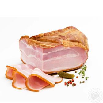 Продукт зі свинини Грудинка в/к в/г Ювілейний 100 г